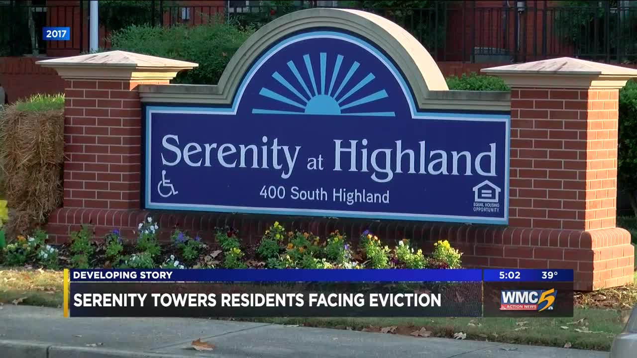 Serenity at Highland residents face eviction