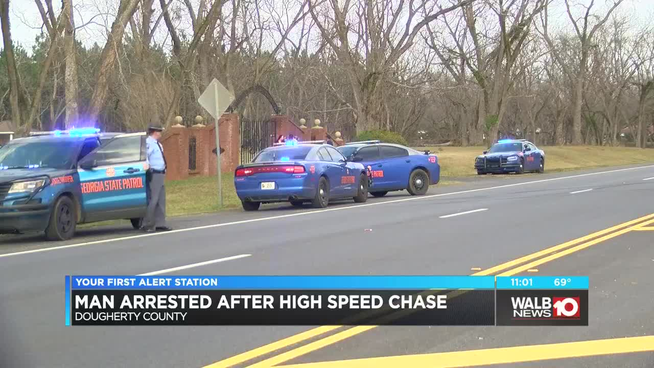 Wrong-way driver arrested after high speed chase starting in Crisp Co