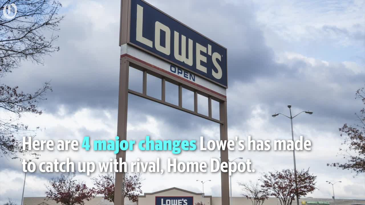 Lowe's announces a major restructuring that involves adding and