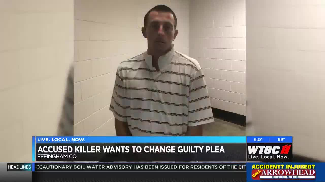 Accused Effingham County killer wants to change guilty plea