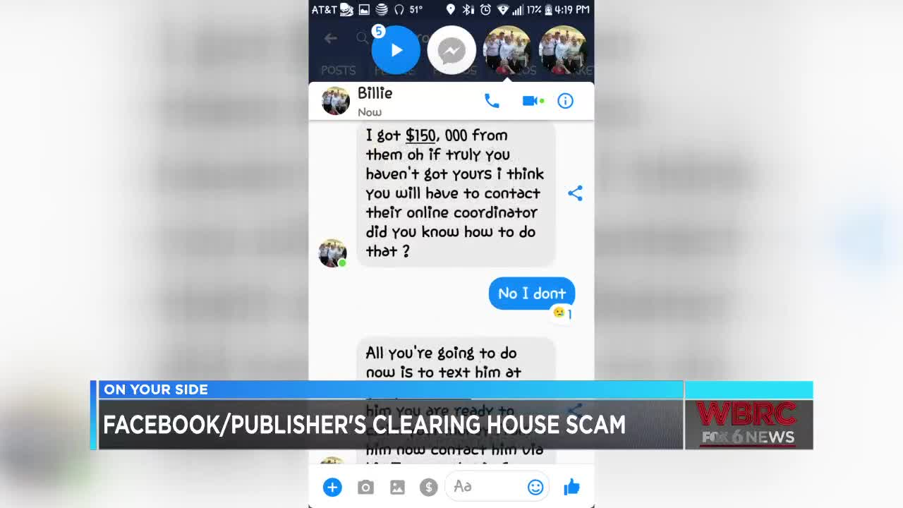 How scammers use Facebook