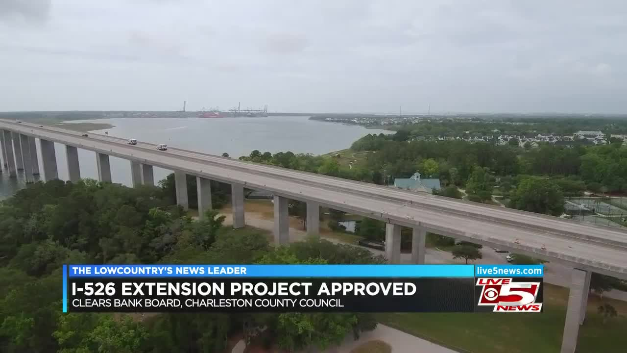 Charleston County Council approves new plan to finish I-526