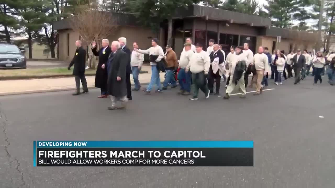 Firefighters Marching At Capitol >> It Boils Down To Money Vs Morals March To Pass Bill Expanding Va