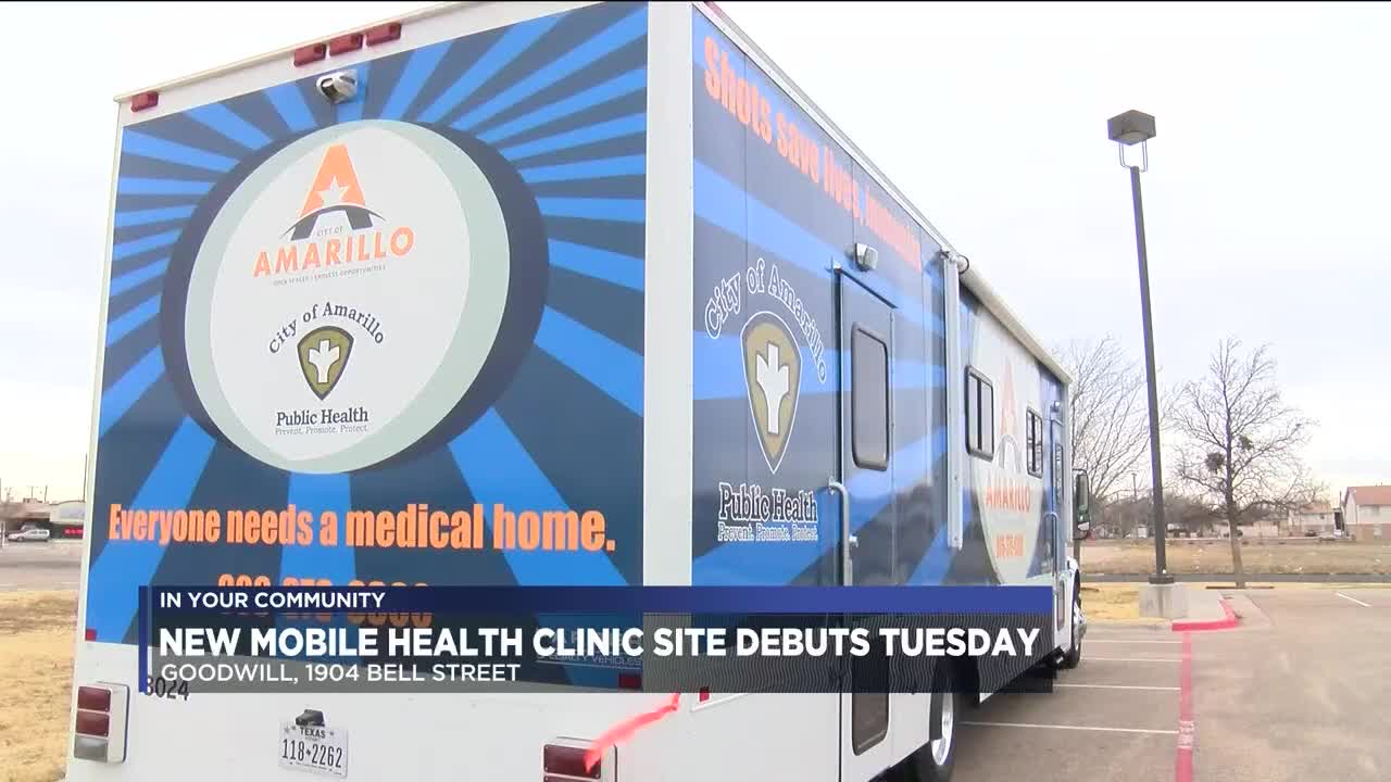 Goodwill hosting newest Amarillo mobile health clinic site