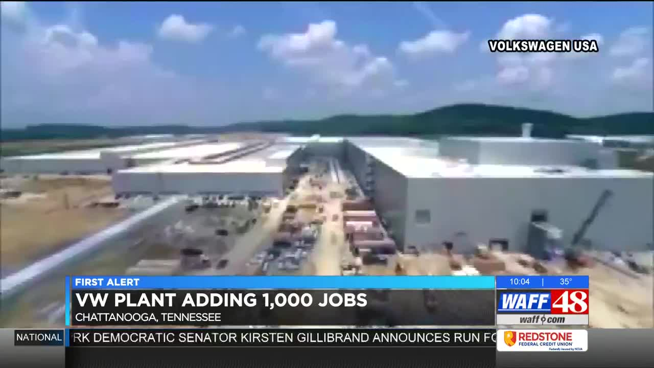 Volkswagen Chattanooga Jobs >> Volkswagen Adding 1 000 Jobs To Chattanooga Tn Plant