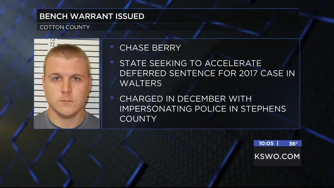 Bench warrant issued for former reserve sheriff's deputy in
