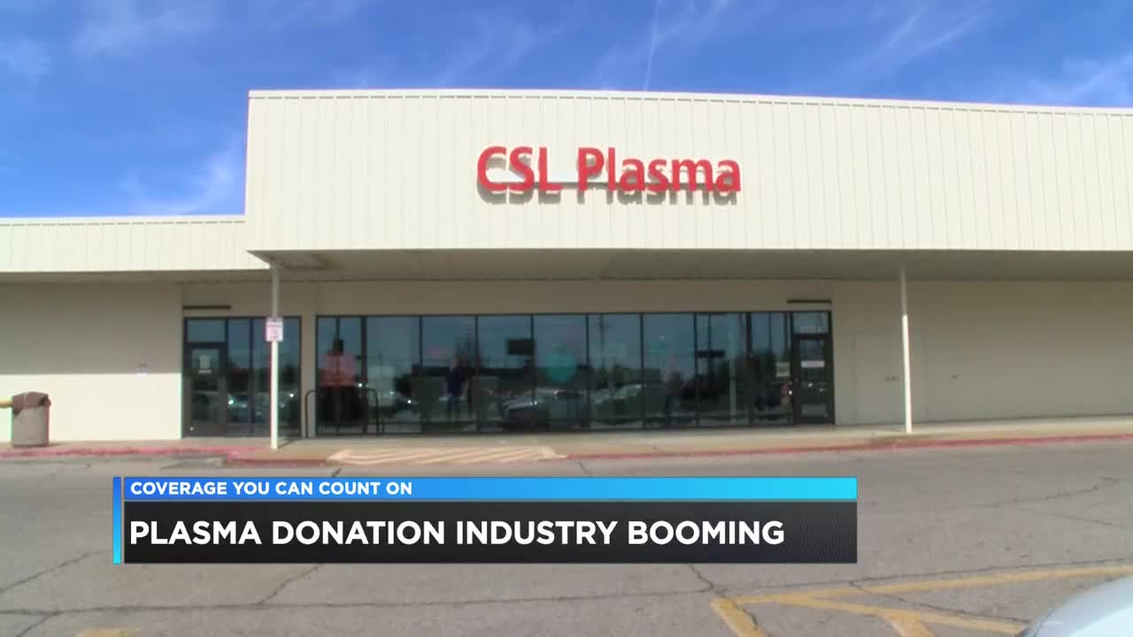 Blood plasma industry booming, new local center opens