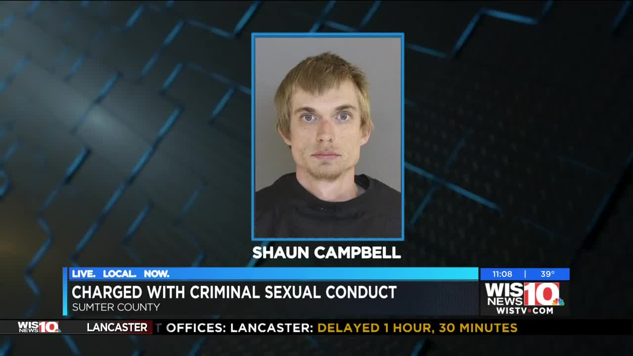 Sumter man charged in sexual assault of minor
