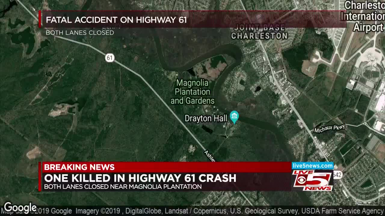 Sheriff's office: Driver killed after driving off Hwy 61