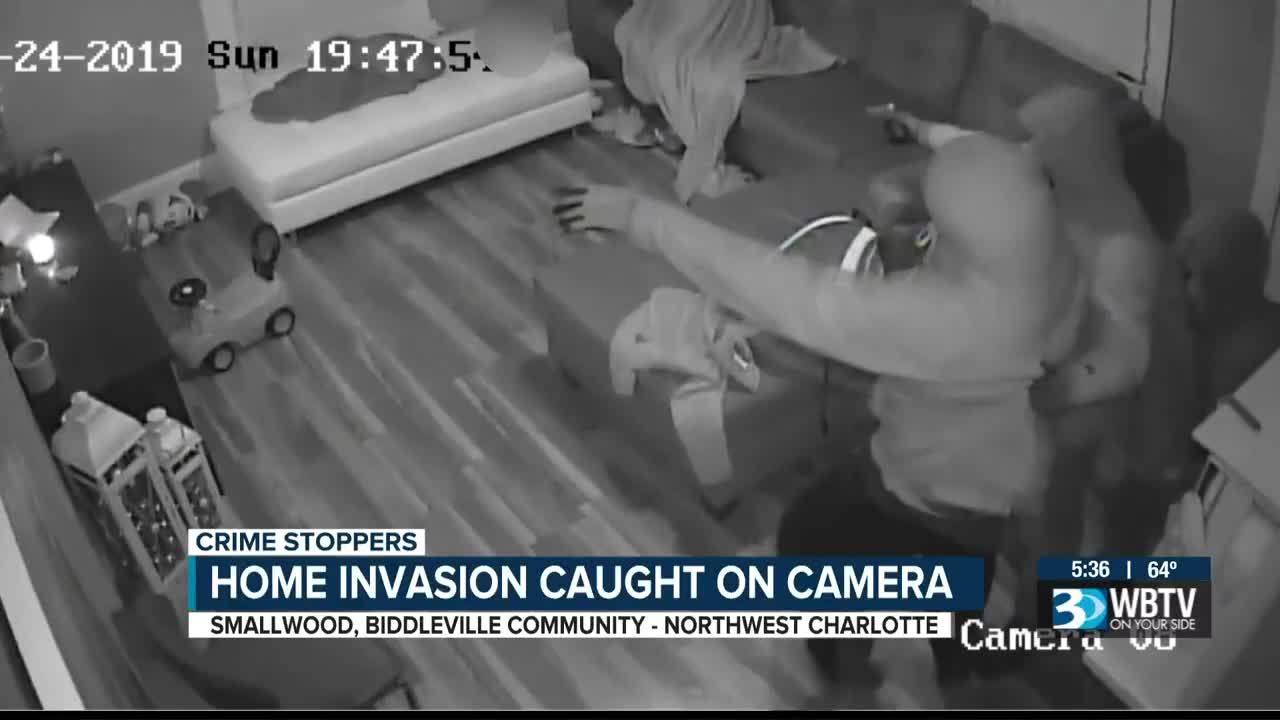 Crime Stoppers Mother Child Tied Up During West Charlotte Home Invasion Police Searching For Suspects
