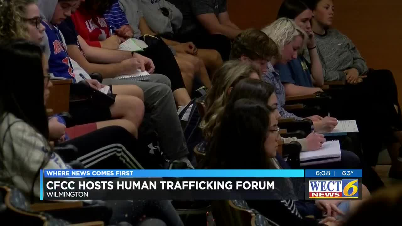 CFCC hosts forum on human trafficking, safety of young people