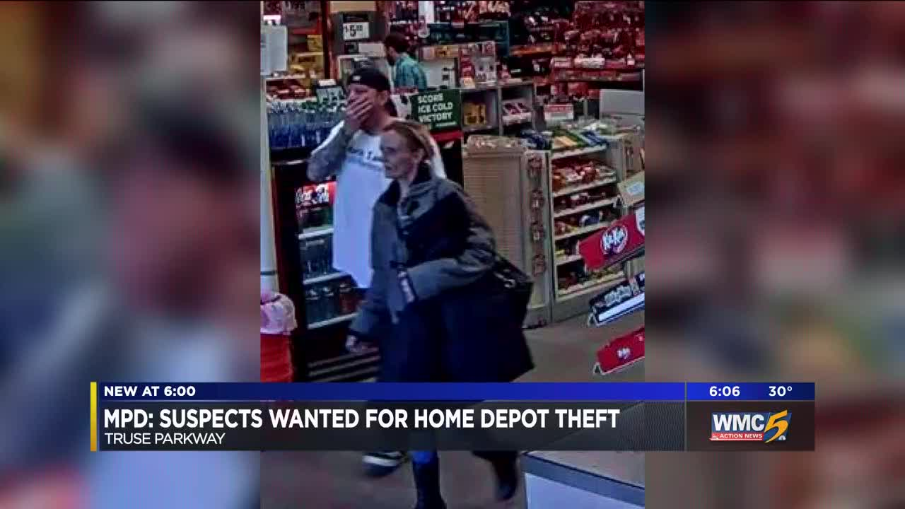 MPD: Suspects wanted for Home Depot theft