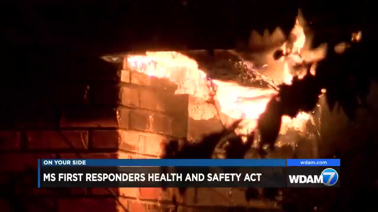 First Responders Act makes its way through the state legislature