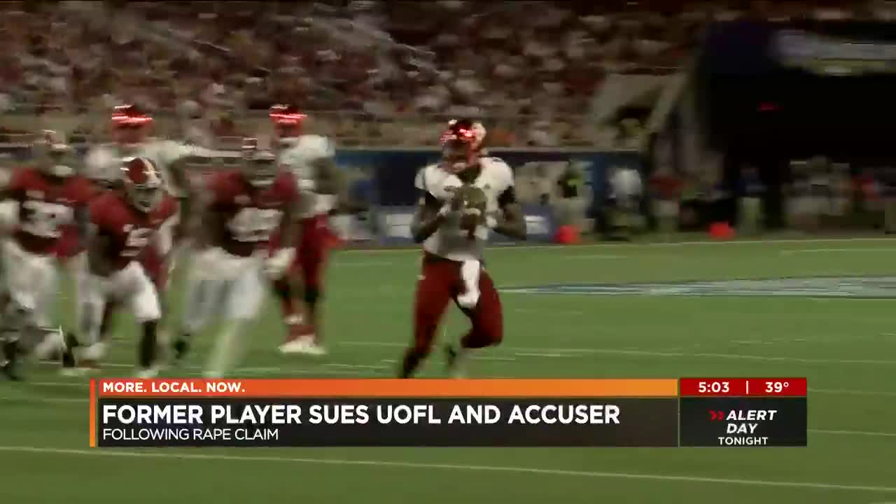 Former UofL football player sues rape accuser and university