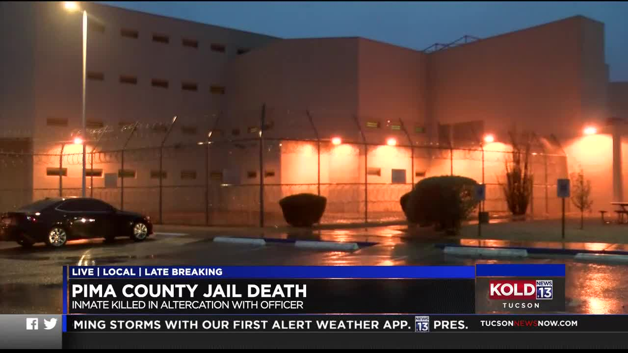UPDATE: Inmate, officer involved in fatal altercation identified