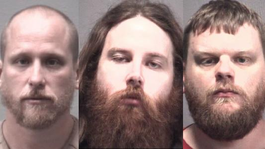 New Hanover trio accused of receiving out-of-state weed shipments