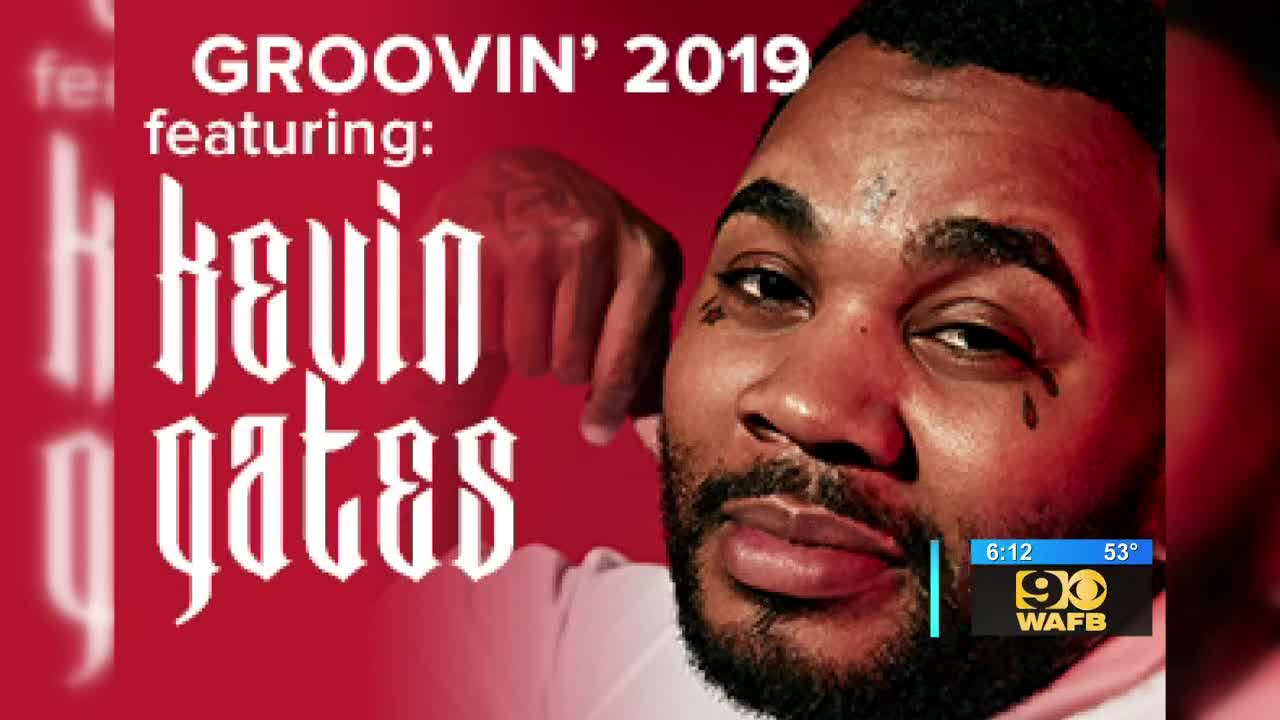 Kevin Gates to headline 2019 Groovin' at PMAC