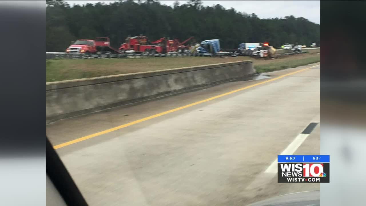Lanes on I-77 NB in Winnsboro reopen after fatal accident