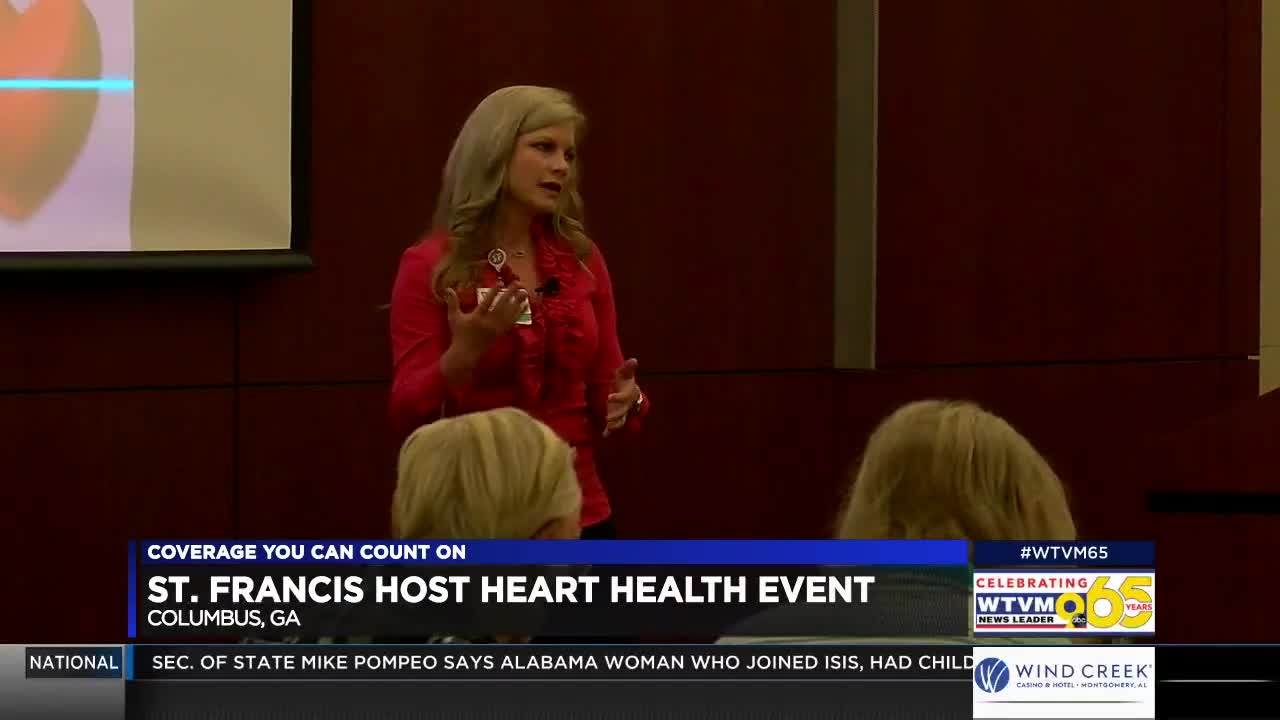 St  Francis Hospital in Columbus hosts Heart Health Luncheon