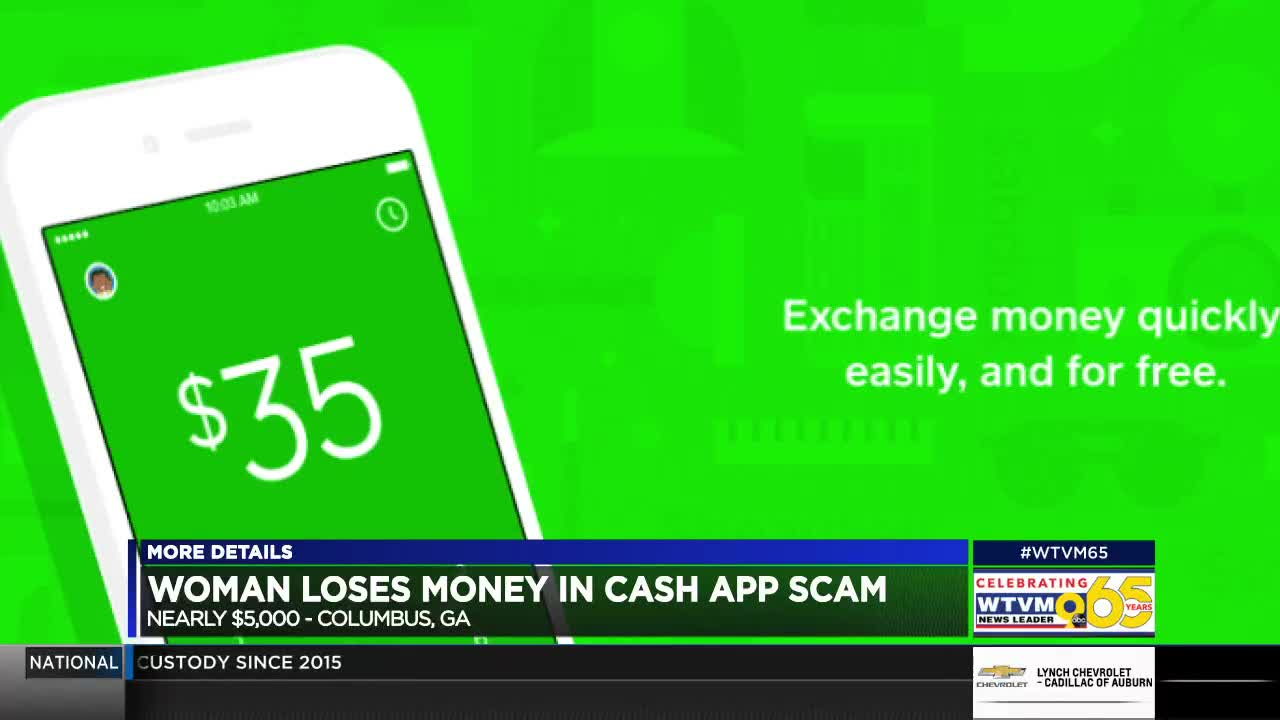 GA woman says bank account emptied through Cash App account