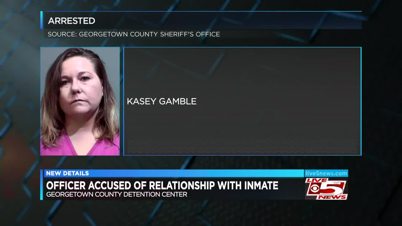 Report: Detention center officer had sex with inmate