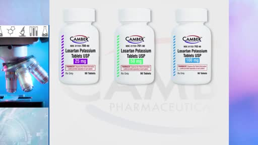Drug maker recalls 87 lots of blood pressure medication