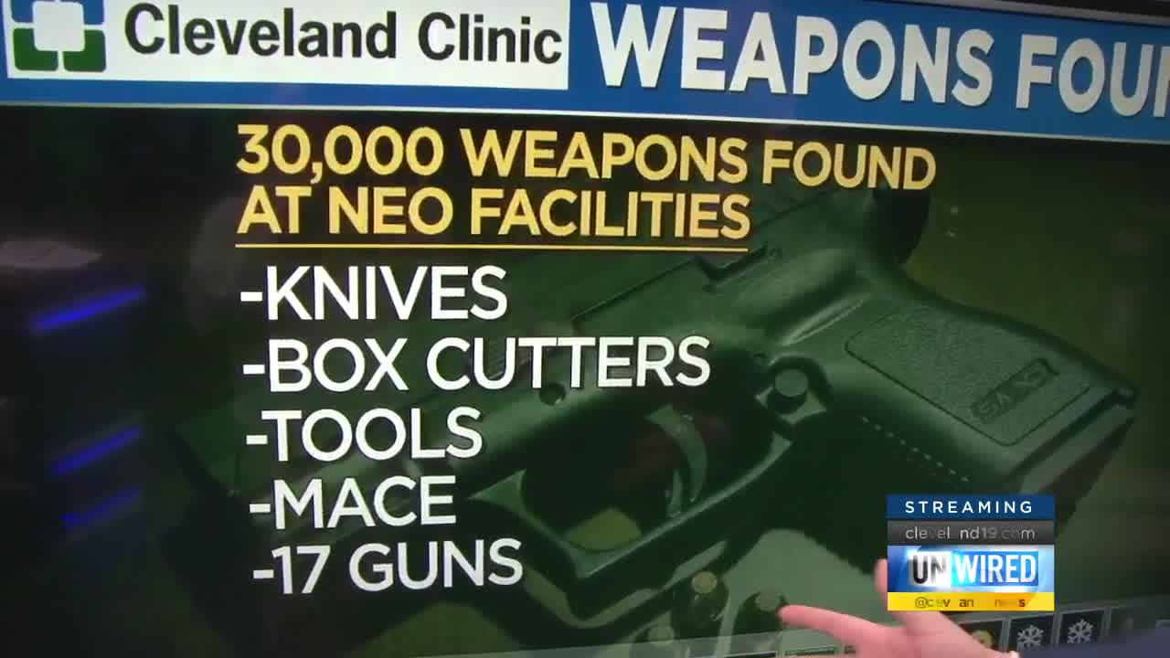 Nearly 30,000 weapons seized at Northeast Ohio's Cleveland