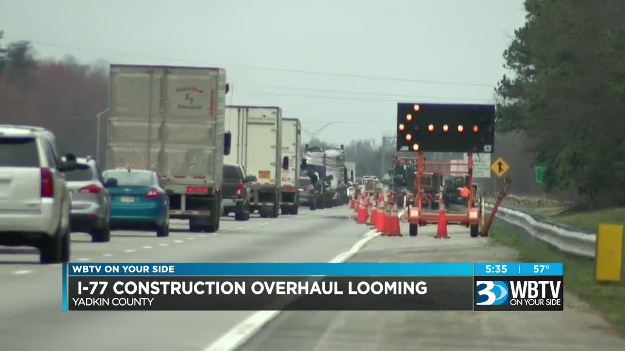 Major construction expected to cause lane closures, traffic