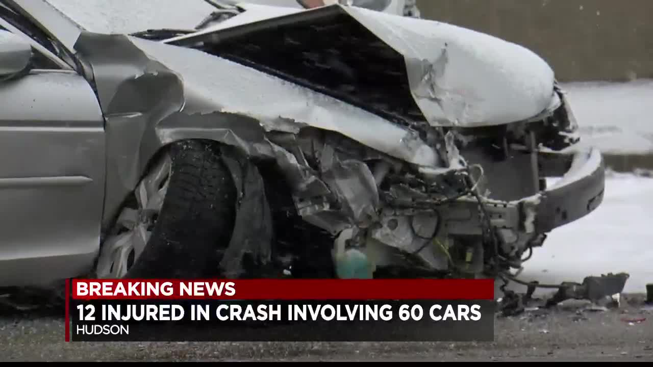Crash victims recount harrowing moments of chain reaction