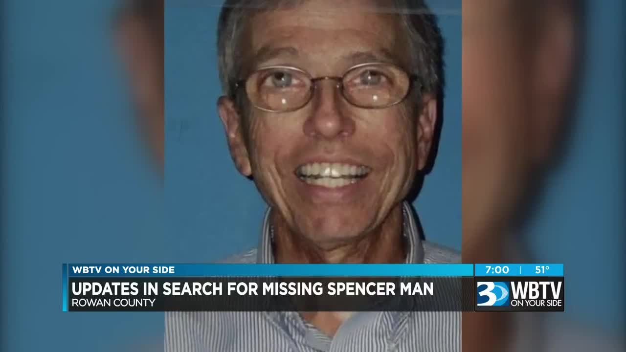 Updates released in search for missing Spencer man