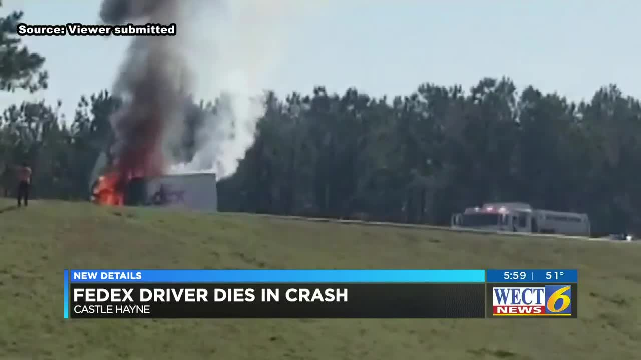 Troopers identify FedEx truck driver killed in fiery accident