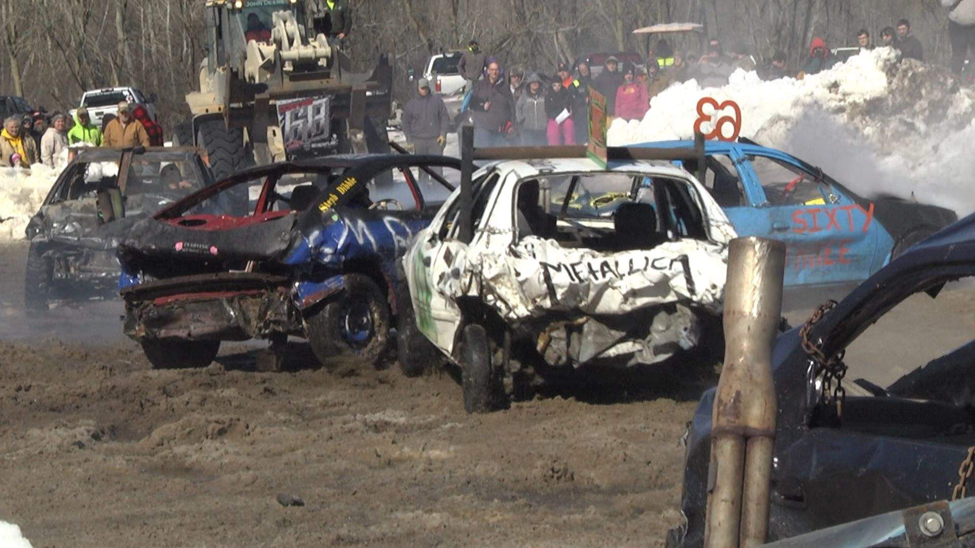 Demo Derby Brings In Money For North Lawrence Volunter Fire Dept