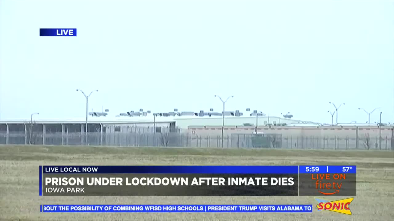 Officials confirm Allred Unit on lockdown due to inmate death