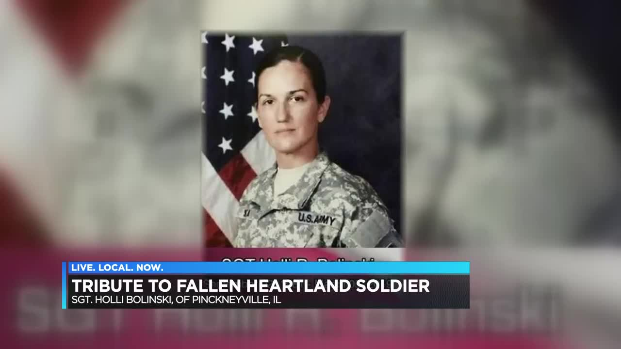 Local Truckers Honor Fallen Soldier And Soldier S Father