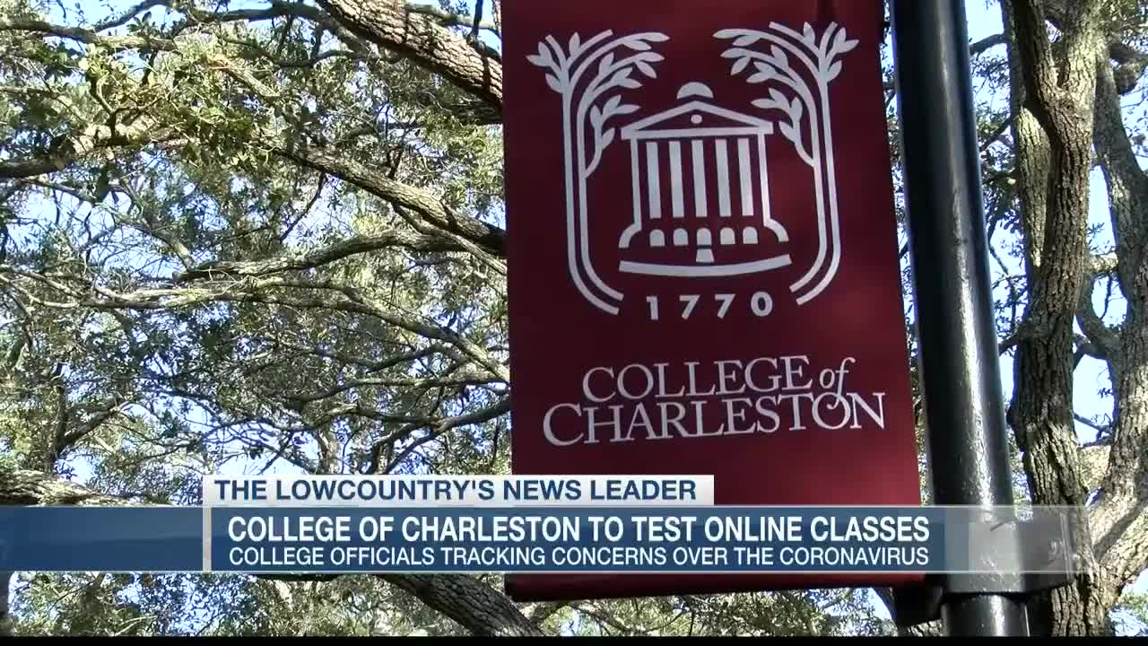 College of Charleston will test online, remote learning ...