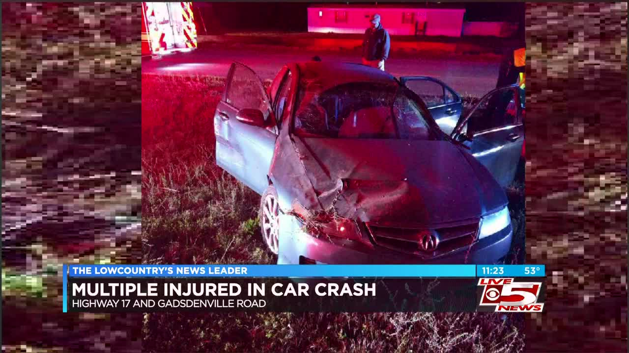 Crews respond to collision on Highway 17 in Awendaw