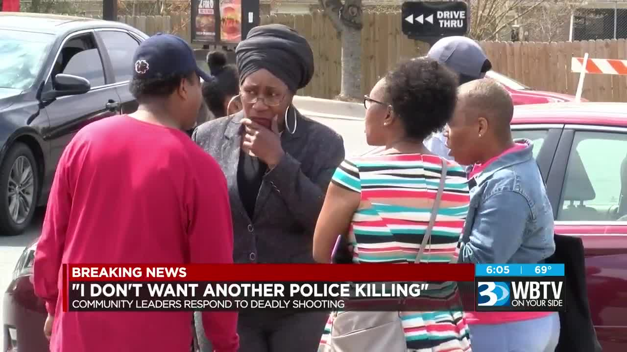 Community leaders respond to latest officer-involved shooting