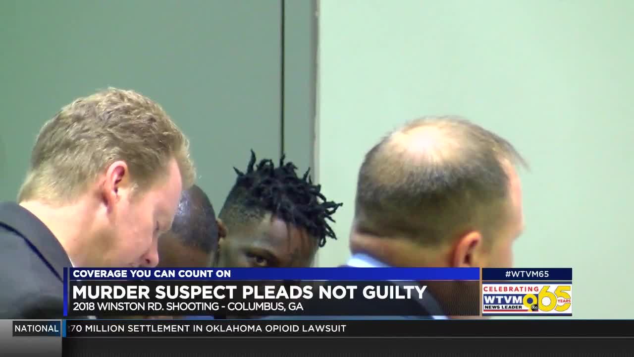 Columbus murder suspect appears in court for April 2018 shooting on