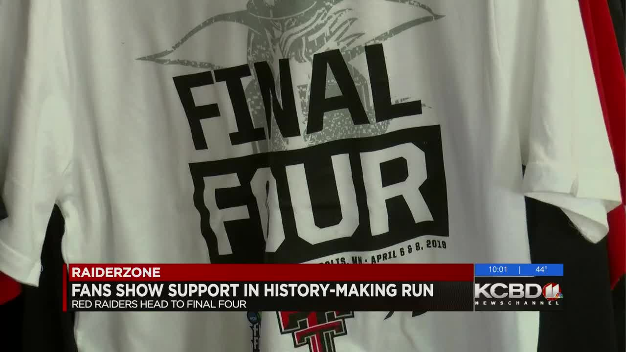 cdaab9667 Tech fans snapping up Final Four merchandise as Red Raiders make history