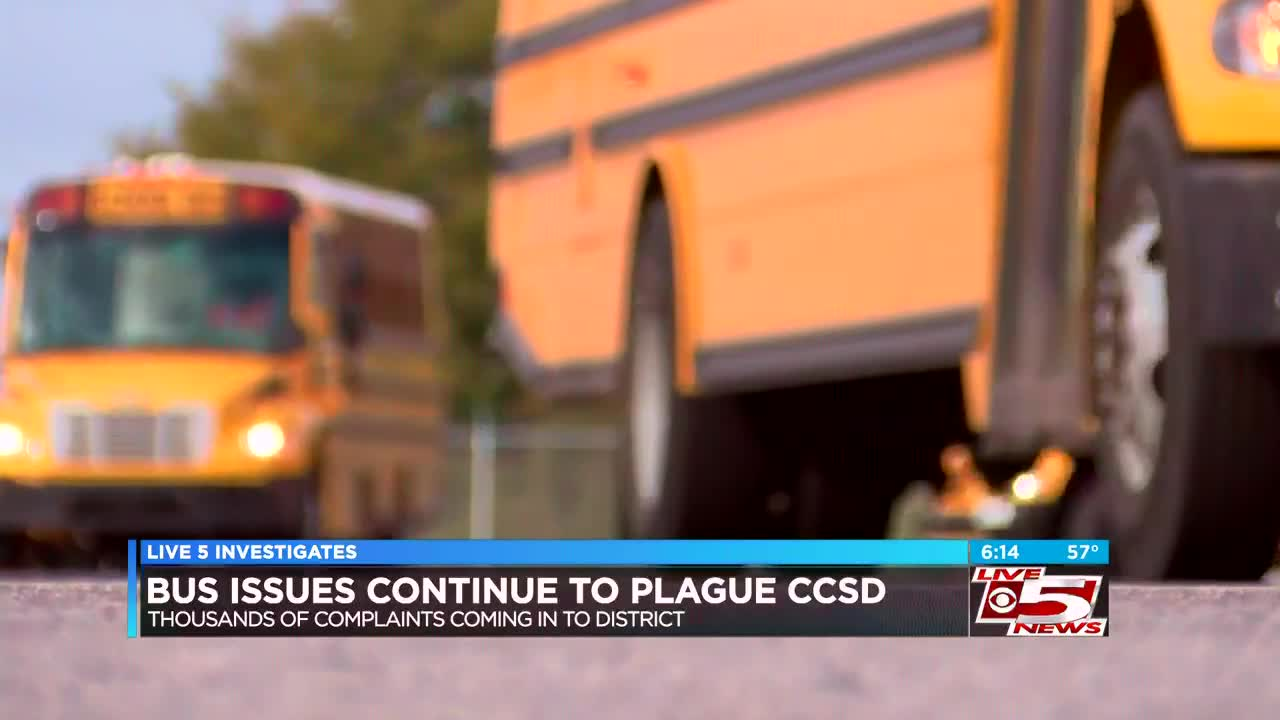 Bus Issues Continue To Plague Charleston County School District