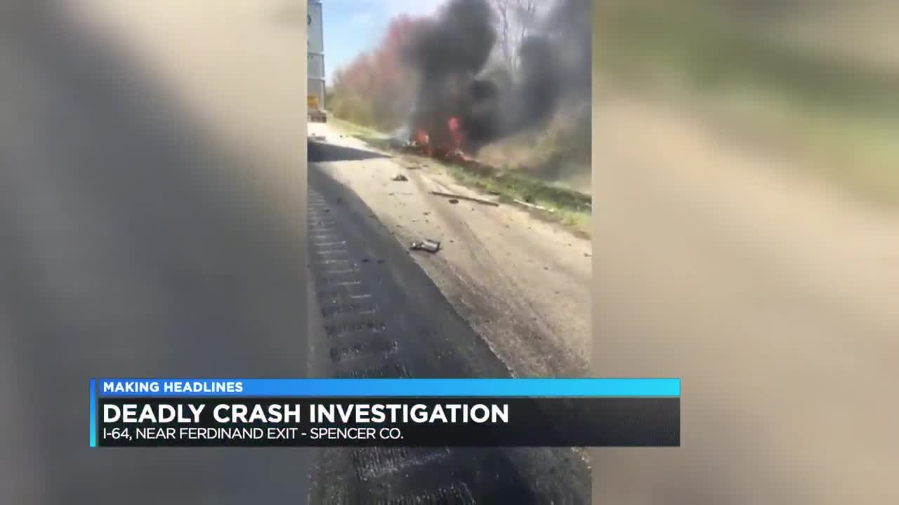 Victim in deadly I-64 crash identified