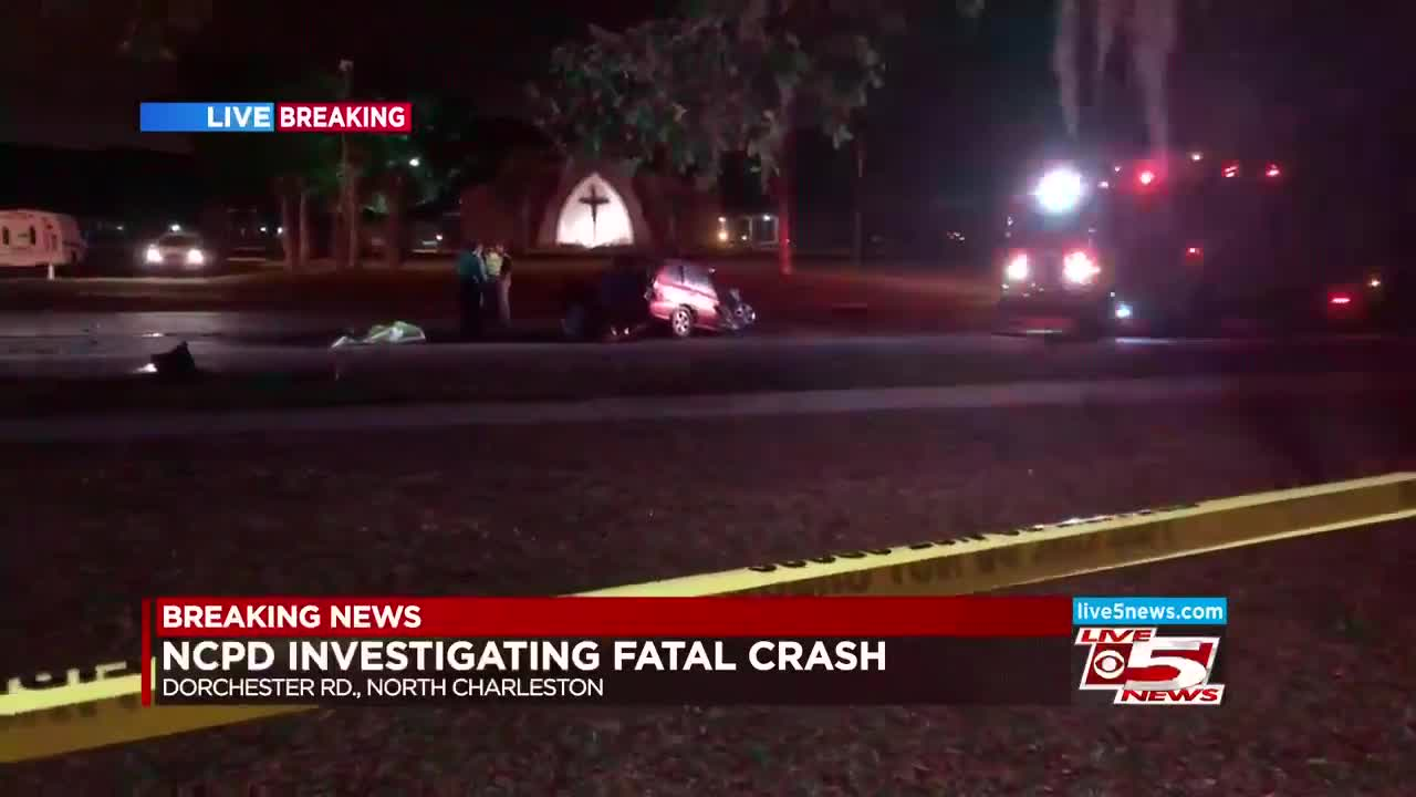 Emergency Crews Respond To Fatal Accident In North Charleston Sunday