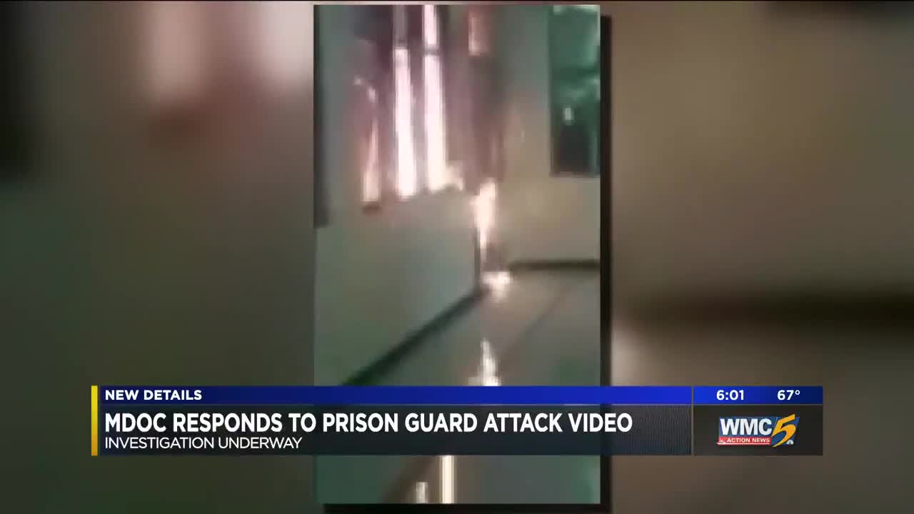 MDOC responds to video of prison guard attack at