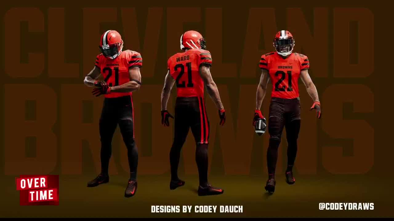7974bb49370 Overtime: Speculation abounds over new Cleveland Browns uniforms