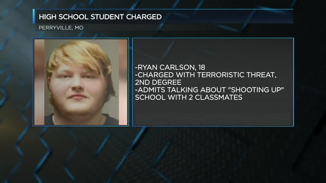 18 year old accused of threatening to shoot up Perryville, Missouri