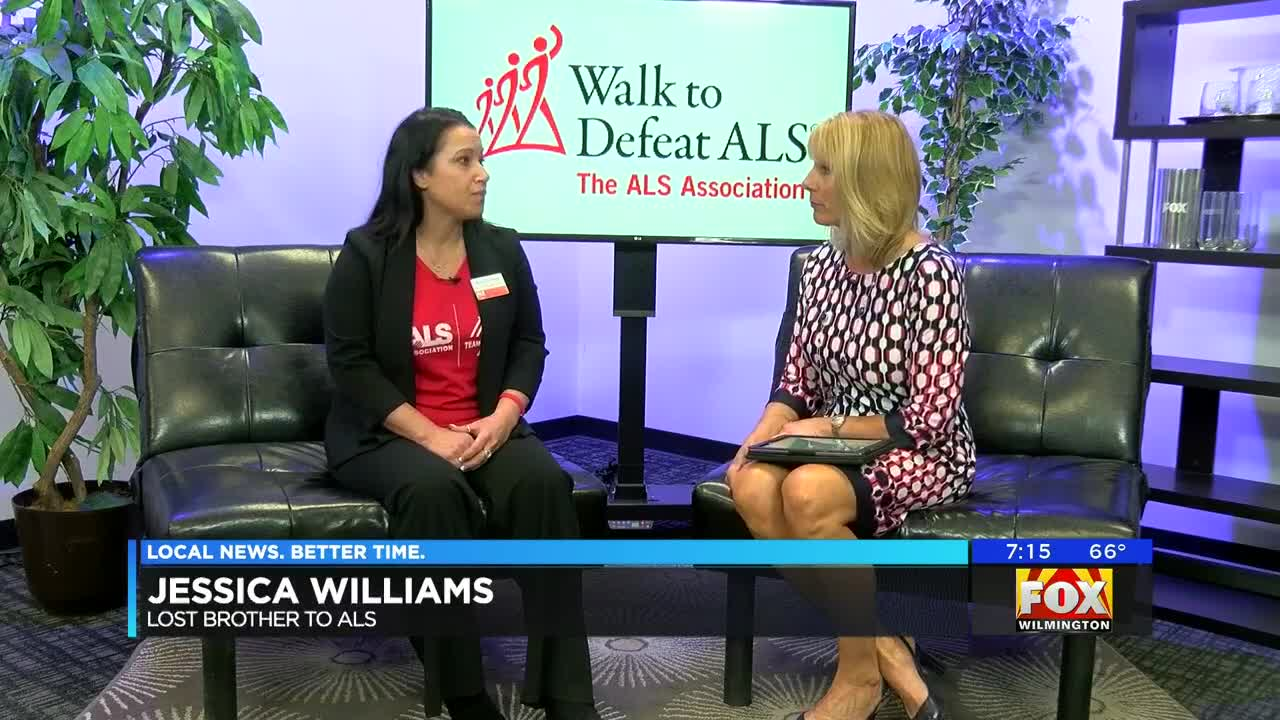 Walk to Defeat ALS: Local woman shares story of losing her brother