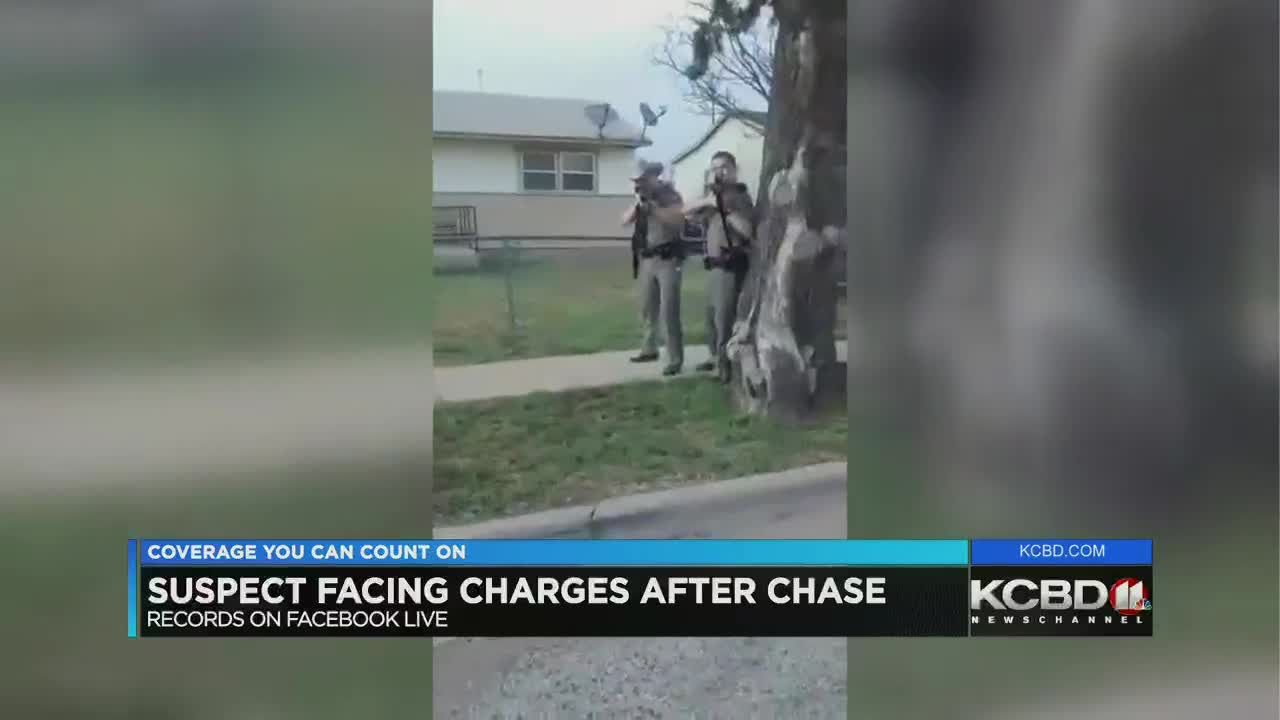 Texas man facing several charges after leading troopers on