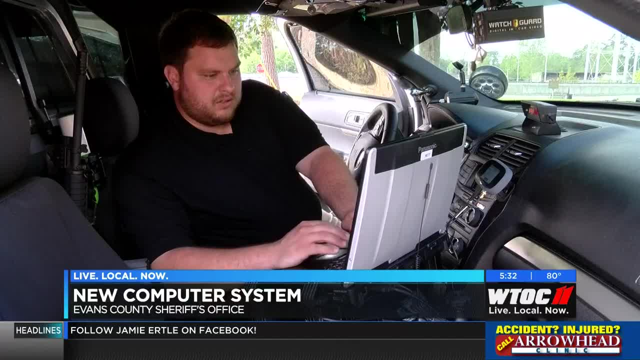 Evans County Sheriff's Office puts new computer system in