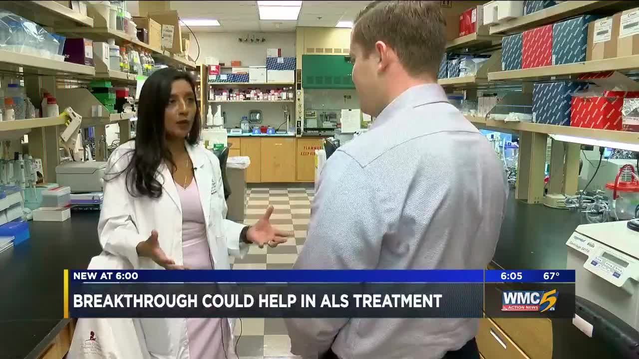 Breakthrough at St  Jude Children's Research could help in ALS treatment