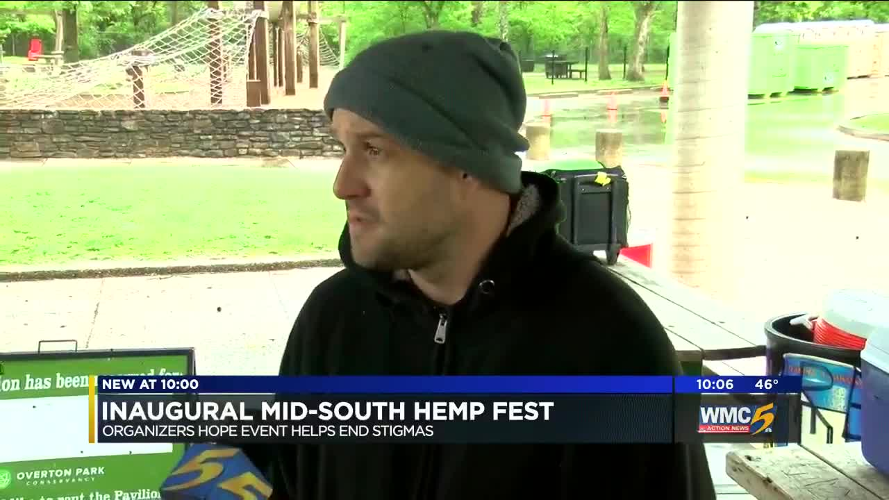Organizers hope Mid-South Hemp Fest helps end stigmas about